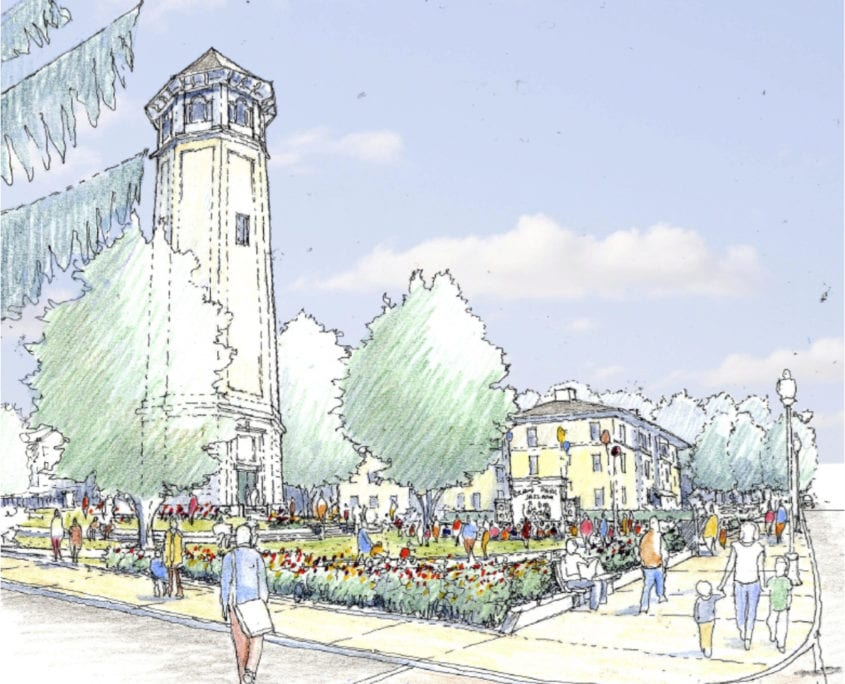 WaterTowerParkRendering